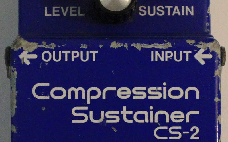 Boss CS-2 Compression Sustainer
