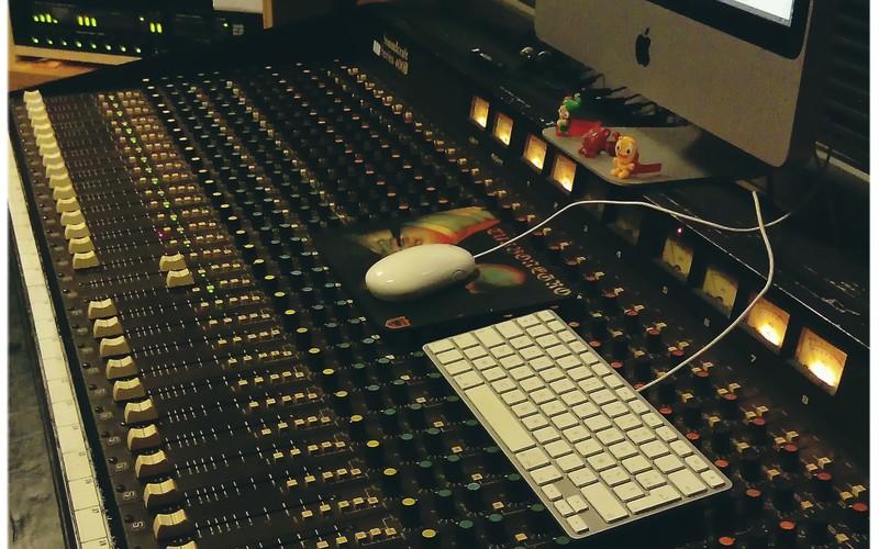 Soundcraft 400B (80's)